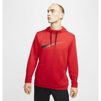 Nike Dri-FIT Men's Pullover Training Hoodie - Red