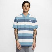 Nike Sportswear Men's Striped Polo - Blue