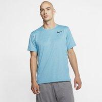 Nike Pro Men's Short-Sleeve Top - Blue