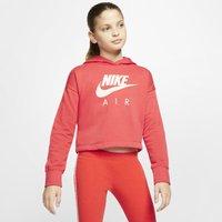 Nike Air Older Kids' (Girls') Cropped Hoodie - Red