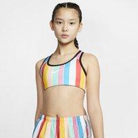 Nike Older Kids' (Girls') Reversible Sports Bra - Black
