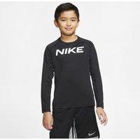 Футболка для тренинга с длинным рукавом для мальчиков школьного возраста Nike Pro фото