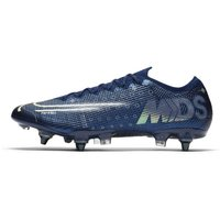 Nike Mercurial Vapor 13 Elite MDS SG-PRO Anti-Clog Traction Soft-Ground Football Boot - Blue