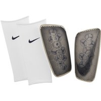 Nike Mercurial FlyLite SuperLock Football Shinguards - White