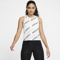 Nike Pro Women's Cropped Tank - White