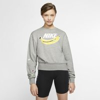 Nike Sportswear Women's Fleece Crew - Grey