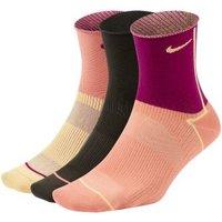 Женские носки до щиколотки для тренинга Nike Everyday Plus Lightweight (3 пары) фото