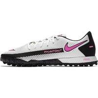 Nike React Phantom GT Pro TF Turf Football Shoe - White