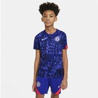 Chelsea FC Camiseta de manga corta de fútbol para antes de los partidos - Niño/a - Azul