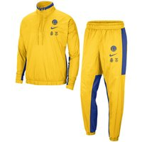 Golden State Warriors Courtside Men's Nike NBA Tracksuit - Yellow