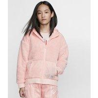 Куртка из материала Sherpa для девочек школьного возраста Nike Sportswear фото