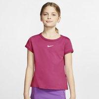 Теннисная футболка для девочек школьного возраста NikeCourt Dri-FIT фото