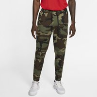 Nike Therma Flex Showtime Men's Basketball Printed Trousers - Olive