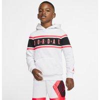 Air Jordan Younger Kids' Colour-Blocked Taped Hoodie - White