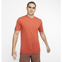 Nike Yoga Dri-FIT Men's T-Shirt - Orange