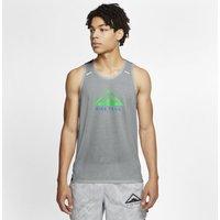 Nike Rise 365 Men's Trail Running Tank - Grey