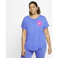Nike Plus Size - Sportswear Icon Clash Women's T-Shirt - Blue