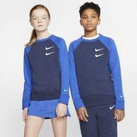 Свитшот из ткани френч терри для мальчиков школьного возраста Nike Sportswear Swoosh фото