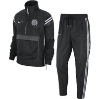 Nets Courtside Women's Nike NBA Tracksuit - Black