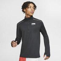 Nike Blue Ribbon Sports Men's 1/2-Zip Running Top - Black