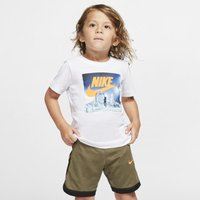 Nike Air Toddler Short-Sleeve T-Shirt - White