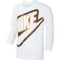 Nike Younger Kids' Long-Sleeve T-Shirt - White