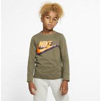 Nike Sportswear Younger Kids' Long-Sleeve T-Shirt - Green