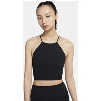 Nike Yoga Women's Infinalon Cropped Tank - Black