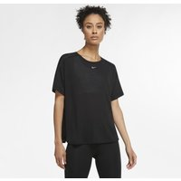 Nike Pro AeroAdapt Women's Short-Sleeve Top - Black