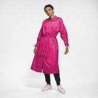 Nike Sportswear Icon Clash Women's Satin Long Jacket - Pink