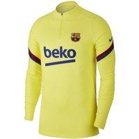 Nike VaporKnit F.C. Barcelona Strike Women's Football Drill Top - Yellow