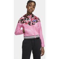 Nike Sportswear Windrunner Older Kids' (Girls') Graphic Jacket - Pink