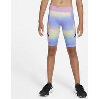 Nike Tech Pack Older Kids' (Girls') Printed Training Shorts - Pink