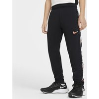 Nike Dri-FIT Older Kids' (Boys') Graphic Tapered Training Trousers - Black