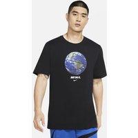 Nike Dri-FIT' World Ball' Men's Basketball T-Shirt - Black