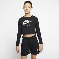Nike Air Older Kids' (Girls') Long-Sleeve T-Shirt - Black