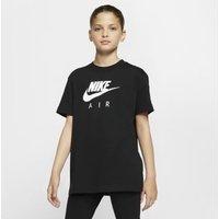 Хлопковая футболка для девочек школьного возраста Nike Air фото