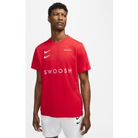 Nike Sportswear Swoosh Men's T-Shirt - Red