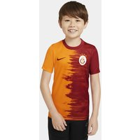 Galatasaray 2020/21 Home Older Kids' Football Shirt - Orange