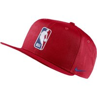 Team 31 Logo Nike Pro NBA Adjustable Cap - Red
