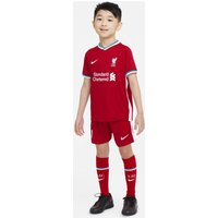 Liverpool FC 2020/21 Home Younger Kids' Football Kit - Red