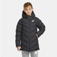 Nike Sportswear Older Kids' Extra-Long Synthetic-Fill Jacket - Black