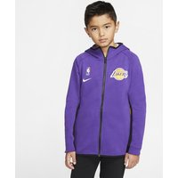 Lakers Showtime Nike Dri-FIT NBA-Hoodie für ältere Kinder - Lila