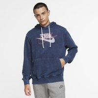 Nike Sportswear Men's French Terry Pullover Hoodie - Blue