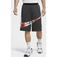 Nike Floral HBR Men's Basketball Shorts - Grey