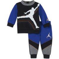 Jordan Conjunto de sudadera y pantalón (0-9 M) - Bebé - Azul