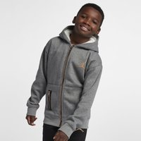 Jordan Older Kids' (Boys') Full-Zip Hoodie - Grey