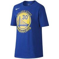 Nike Icon NBA Warriors (Curry) Older Kids' (Boys') Basketball T-Shirt - Blue