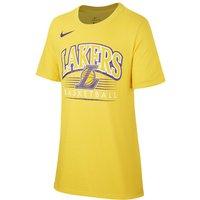 Los Angeles Lakers Nike Dri-FIT NBA-T-Shirt für Jungen - Gelb
