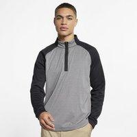 Nike AeroLayer Men's Golf Top - Black (AJ5442-010)